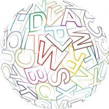 alphabet in ball by vlado